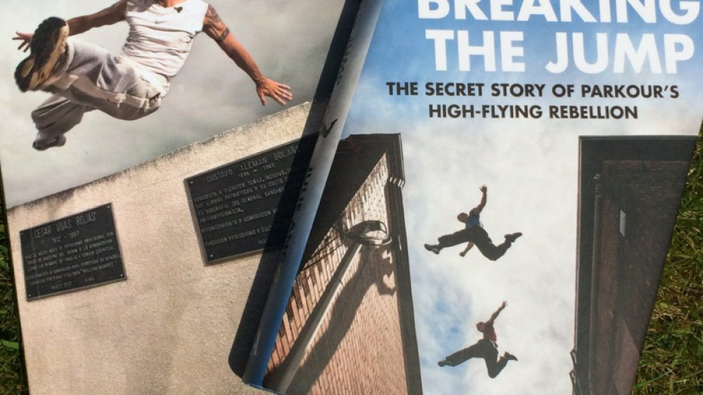 the history of parkour book by julie angel